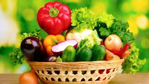 Spis mer friske grønnsaker