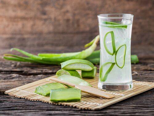 Aloe vera-juice