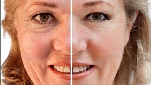 antioksidantmaske for huden