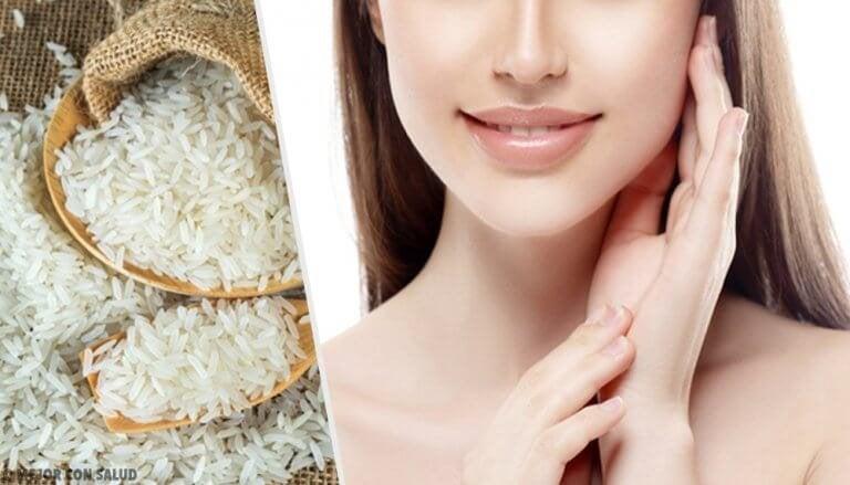 Slik bruker du ris for å gjøre huden din misunnelsesverdig