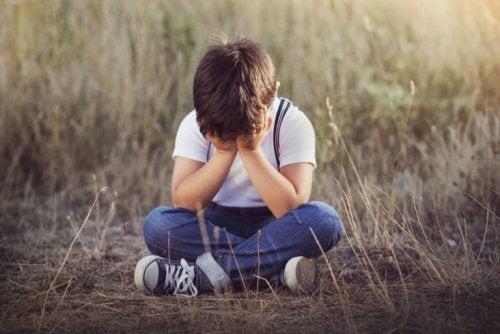 barn gråter