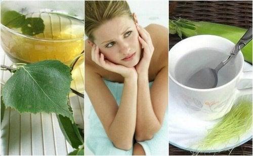 5 teer for å bekjempe blærekatarr naturlig