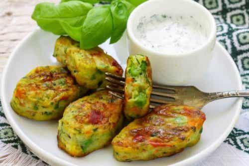 Tre oppskrifter på vegetariske nuggets
