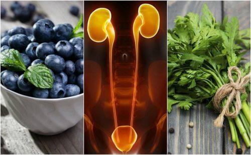 7 matvarer som beskytter nyrene og blæren
