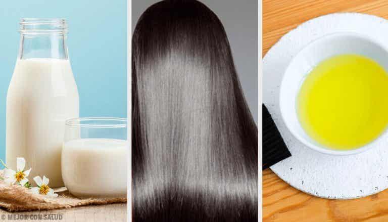Tips og naturlige masker for vakkert hår