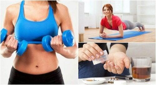 6 feil som hindrer deg i å få større muskelmasse