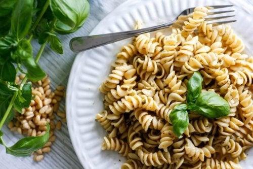 pasta uten fløte eller ost