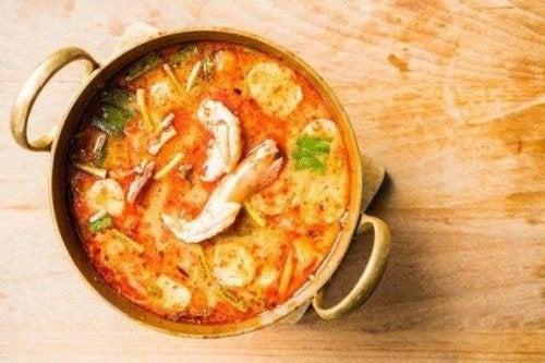 Oppskrift på en enkel, hjemmelaget sjømatsuppe