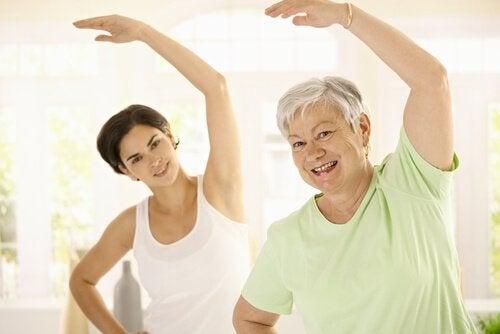 Trening for å unngå vektøkning med alderen
