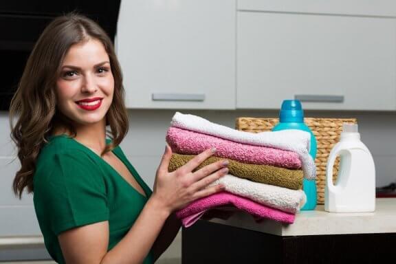 Naturlig tøymykner til håndklærne: lag det selv