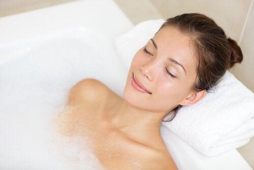 avslappende bad