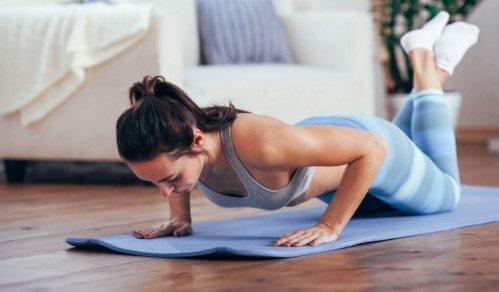 Begynn å trene for å gå ned i vekt uten problem.