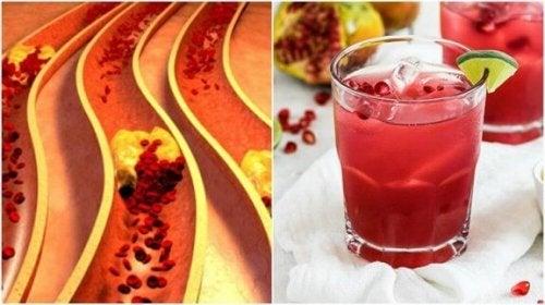Seks hjemmeremedier for å rense arterieveggene