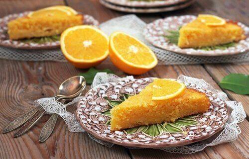 Appelsinformkake du kan tilberede på bare 5 minutter