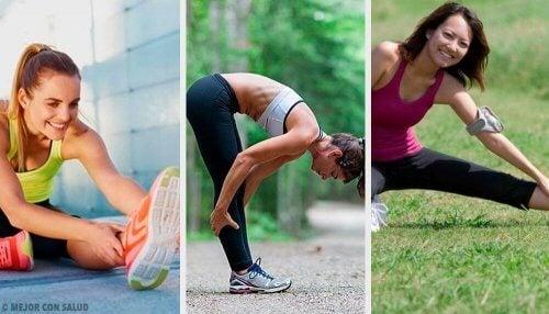 Øvelser for å forbedre fleksibiliteten i beina