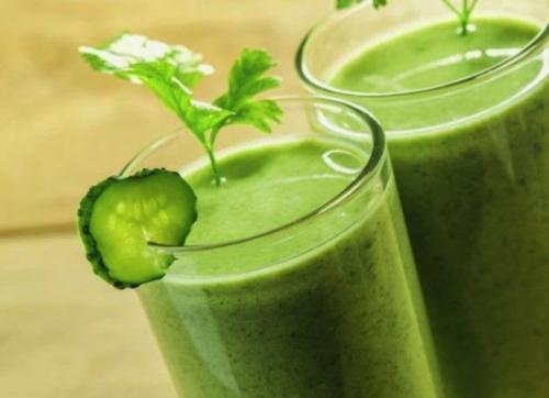 Prøv disse fem oppskriftene på slankende grønnsaksjuice