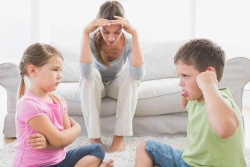 Slik får du kontroll på slosskamper mellom barn