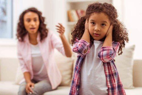 Hvordan er ulydige barn?