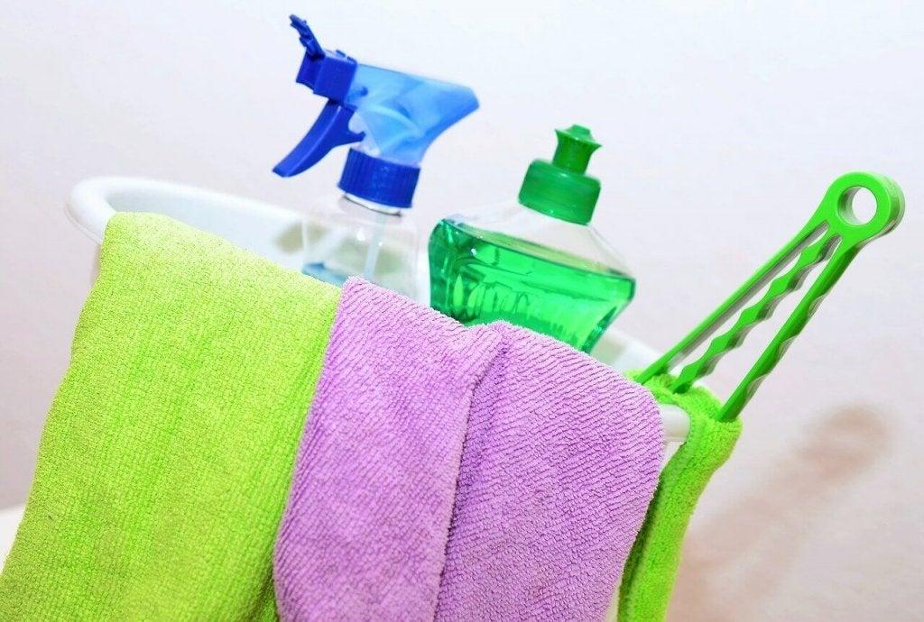 Seks steder du glemmer å vaske hjemme