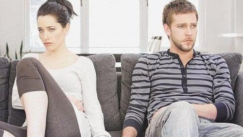 Par med problemer