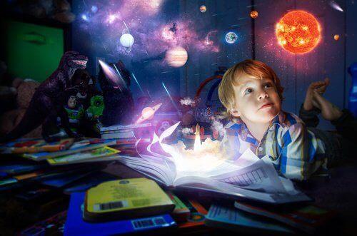 Begavet barn forestiller seg