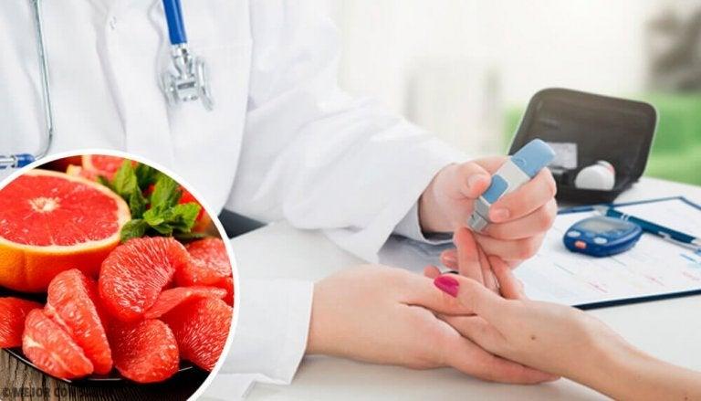 Forhindre diabetes med grapefrukt i kostholdet ditt