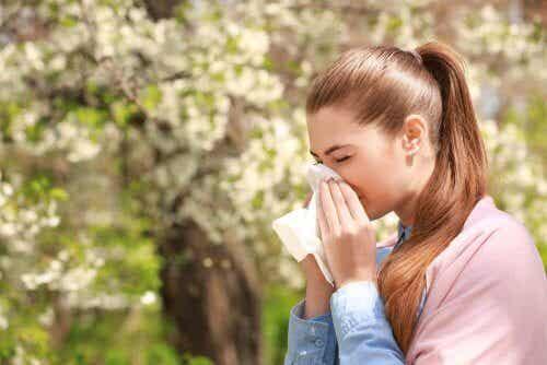 Tre medisinske preparater mot allergier