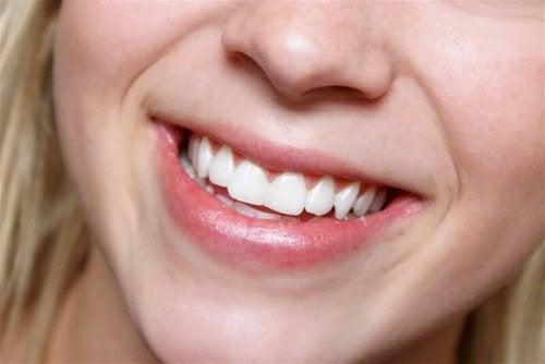 Aloe vera for tannhygiene
