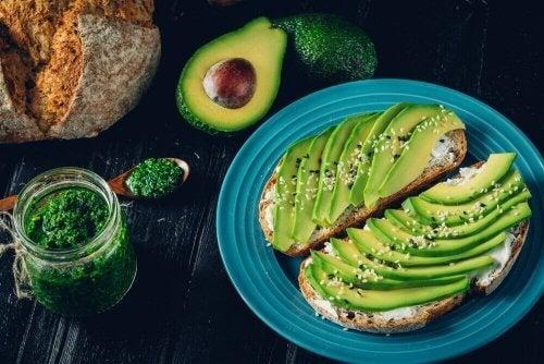 Sunn, fet mat som du kan spise når som helst