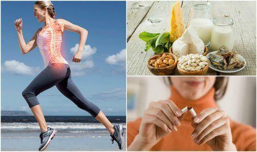 7 vaner som kan forhindre osteoporose