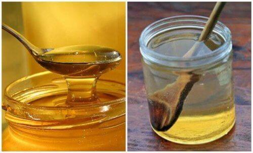 Lær å lindre en sår hals med varmt vann og honning