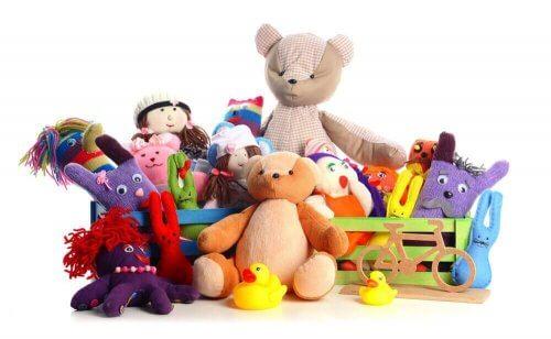 Er barnet ditt bortskjemt og har fått for mange leker?