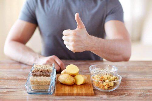 Karbohydrater er sunt for lungene dine