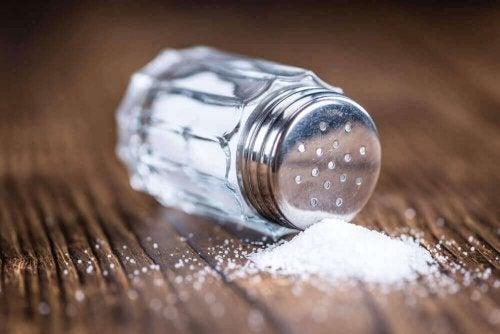 Salt inneholder natrium