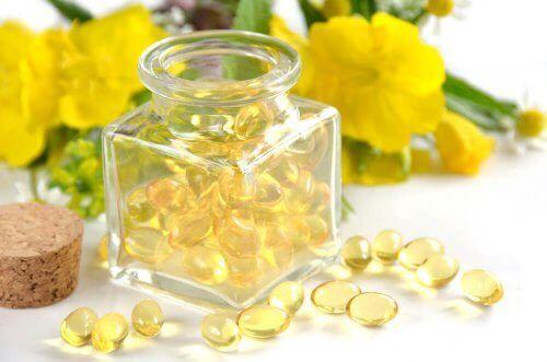 Preparater med nattlysolje for kvinners helse