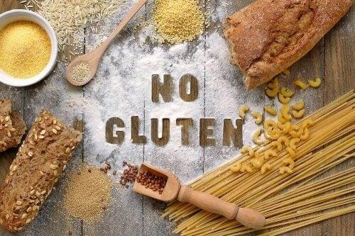 Gluten er et protein som finnes i de fleste kornsorter.