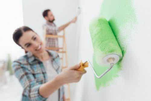 Feil du burde unngå når du skal male huset