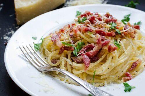 Spagetti carbonara - To deilige oppskrifter