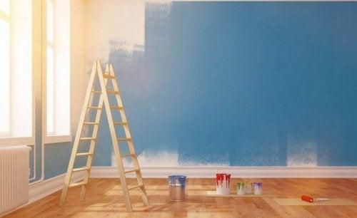 Tips når du skal male huset