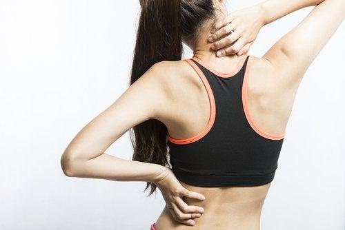 Muskelsmerte når du ikke drikker nok vann