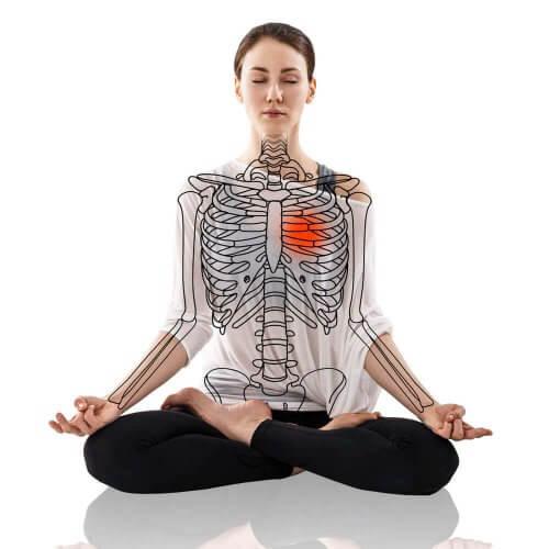 Yoga for å kontrollere høyt blodtrykk