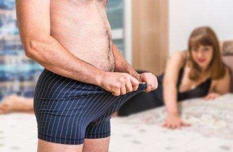 Mann vil ikke ha sex