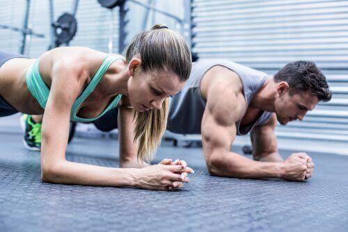 Muskelsmerter når du trener for mye