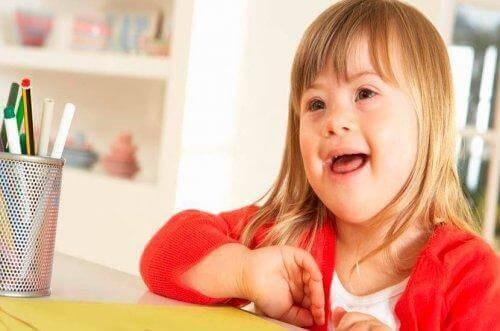 Å oppdra barn med Downs syndrom