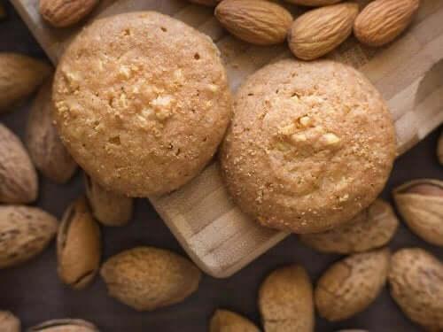 Kjeks med kokos og mandler: En rask og sunn oppskrift