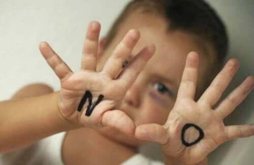 Barn sier nei