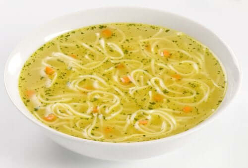Vegetarisk suppe
