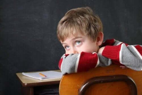 Barn vil ikke gjøre leksene sine