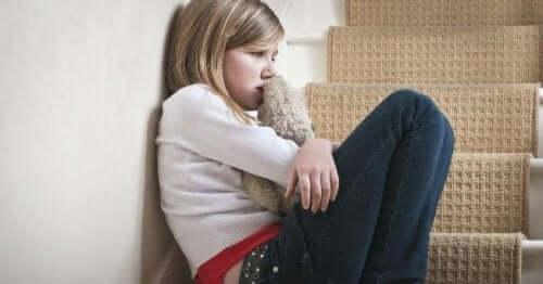 Barn blir mishandlet
