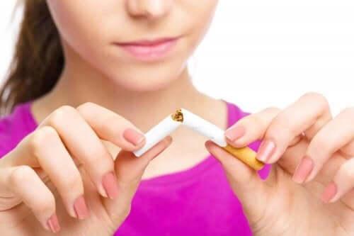 Fem positive ting med å slutte å røyke